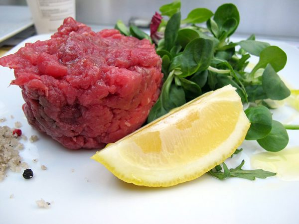 Carne cruda di Fassona al Top